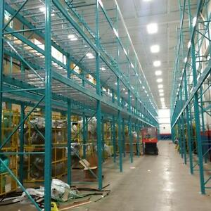 Pallet Racking - Cantilever -Industrial Shelving -  Guardrail - Mezzanine -  Wire Partition - Installations