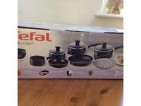 Tefal 7 piece Saucepan/Frying pan set