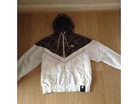 Nike Air running jacket (hooded) medium, reversible jacket