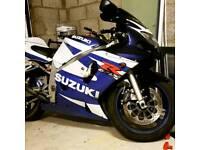 Gsxr 600 k1 2001