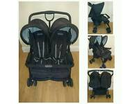 Graco side by side easy fold double buggy