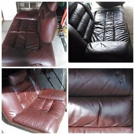 FREE. FREE Leather sofa and chair