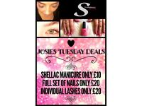 Lashes, nail extensions & CND shellac in Castle brom