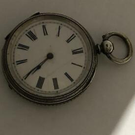 Vintage antique silver watch watch