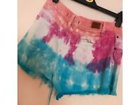 Urban outfitters distressed shorts