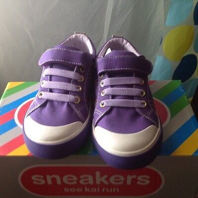 girls shoes new kain purple size 12