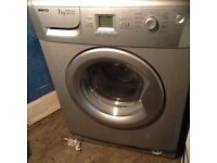 Beko silver washing machine ,fault in the motor,£30.00