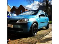 Breaking Vauxhall Corsa C