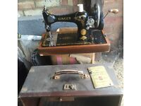 Singer Sewing Machine (Model 127 - 128)