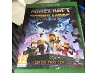 Xbox one minecraft story mode game