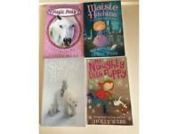 4 Holly Webb paperbacks