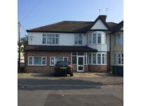 Garden Flat Ground Floor 1-2 bedrooms with office/study Redecorated New Boiler