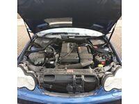 Mercedes-Benz, C CLASS, LPG converted, Saloon, 2003, Semi-Auto, 1796 (cc), 4 doors