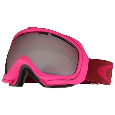 Oakley 59-165 Elevate Bright Rose w/ Black Iridium Lens Womens Snow Ski Goggles