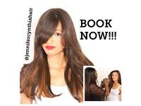 Full head Frontals and Closure Weave Application