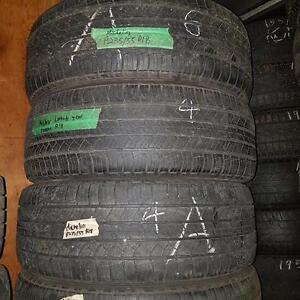 Set of four 235 55 18 for sale