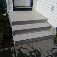 FREE: Concrete Front Steps / Stairs Precast