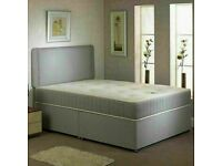 🔵💖🔴HIGH QUALITY🔵💖🔴DIVAN BED WITH MATTRESS AVAILABLE IN SINGLE,DOUBLE/KING SIZE