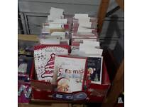Christmas cards and candles