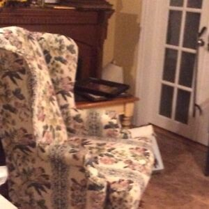 Wing chair great condition