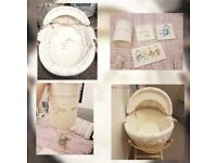 Once Upon A Time Moses Basket & Nursery Set