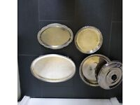 BBQ Stainless Steel Food Storage Containers & Serving Plates