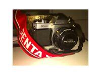 PENTAX K1000 50mm lenses included
