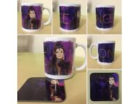 "Once Upon A Time ""Regina"" Mug and Coaster set."