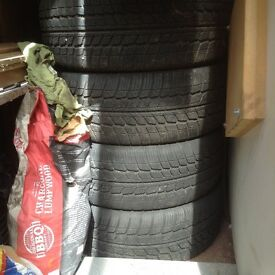 17inch new winter tyres 85£