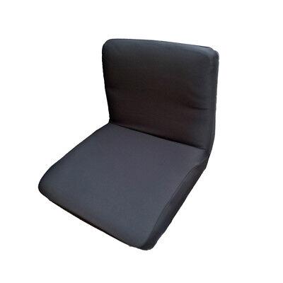 Zurück Bar Stuhl (Spandex Stretch Low Short Zurück Stuhlabdeckung Barhocker Cover Schwarz)