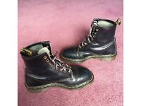 Dr Marten women's boots.