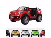 Official BMW Mini Kids Electric Ride On Toy Car MINI Beachcomber 12V Two Seater