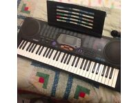 CTK-541 Casio Keyboard - multiple sounds and learning tools