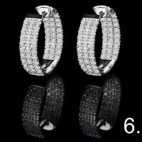 BOUCLES D'OREILLES DIAMANTS EN OR / GOLD DIAMOND STUD EARRINGS