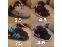 Infant boy trainers for sale
