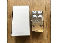 Xotic RC Booster v2 boost overdrive distortion guitar pedal