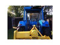 Leyland 385 Blue Tractor