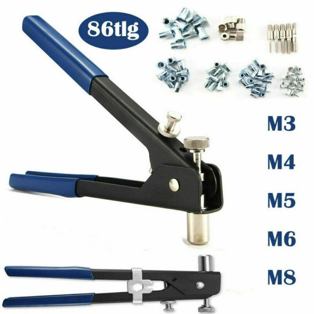Blindnietmutternzange  Nietmutternzange NEU M3-M6  Zange A