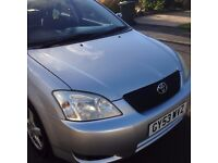TOYOTA COROLLA 2.0 D4D T2, LOW MILLAGE, HPI CLEAR, VERY ECONOMICAL AND RELIABLE FAMILY CAR