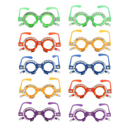 10pcsbox Optical Trial Lens Frame Optometry Equipment Eyeglass Optometry