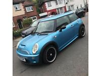 Mini Cooper S 2003 blue - low mileage - great condition - px welcome