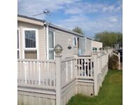 Static caravan for hire at south view leisure park. Skegness. 5star rated. Sleeps 6.