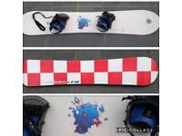 Nidecker Stardust 151cm snowboard with bindings, never used