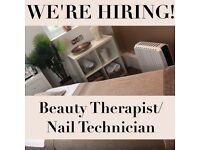 Beauty Therapist/Nail/Eyelash Technician
