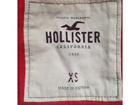 Hollister Red Hoodie Size XS