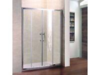 Brand New 1700 Double Sliding Shower Door