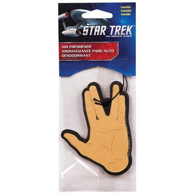 *UK* STAR TREK SPOCK HAND AIR FRESHENER VANILLA TREKKER GEEK GIFT LOOT CRATE