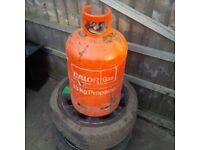 Propane bottle 13Kg and regulator *EMPTY*
