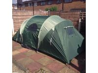 Pro action 4 man tunnel tent BRAND NEW
