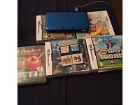 Nintendo 3ds XL Blue With 9 Games